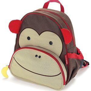 NWT Skip Hop Monkey Toddler Backpack
